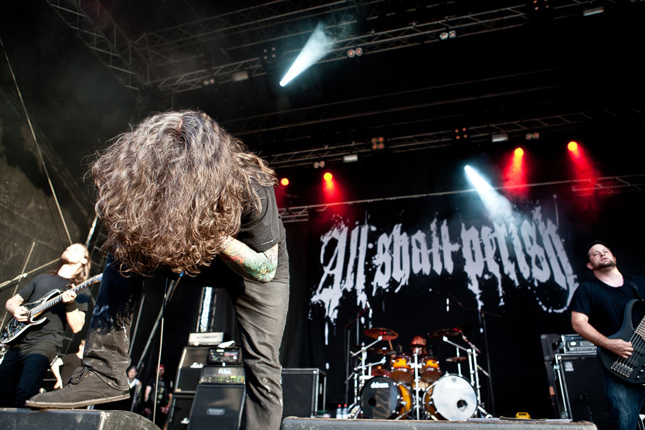 All Shall Perish live, Extremefest 2012 in Hünxe
