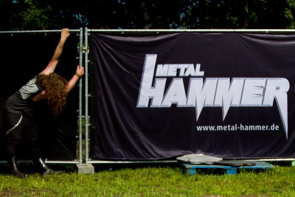 Fans und Atmo, Extremefest 2012 in Hünxe