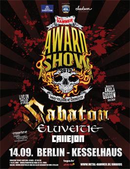 METAL HAMMER Awardshow 2012
