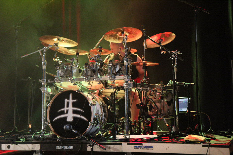 Lacuna Coil live, Earshakerday 2012