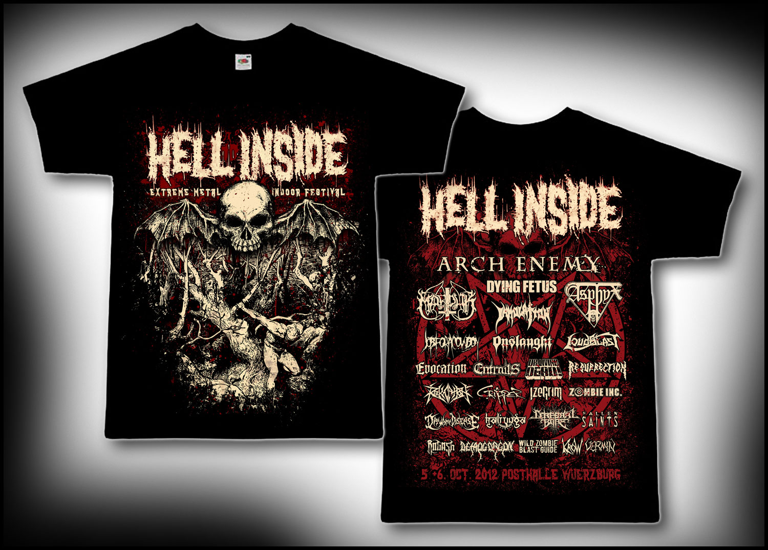 Hell Inside 2012 Merchandise
