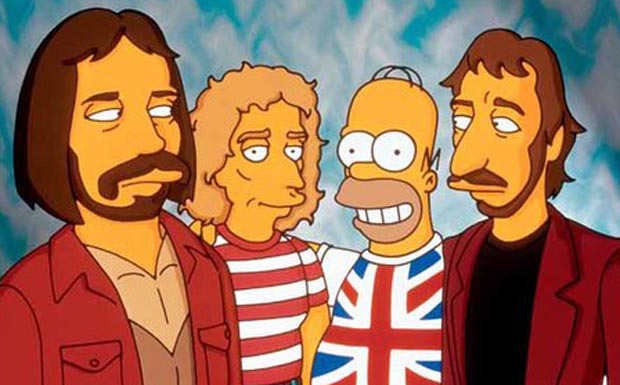The Who bei den Simpsons