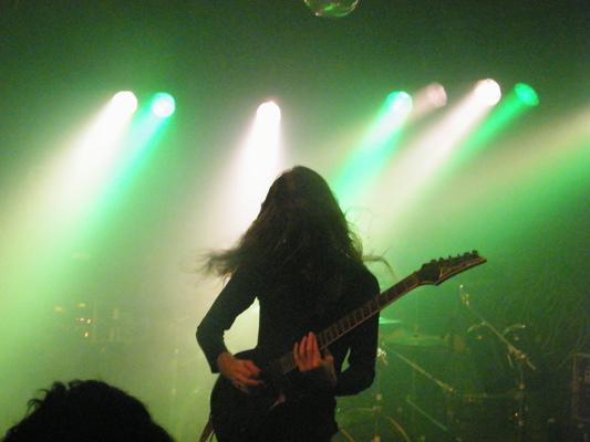 Auf Tour und Backstage mit Obscura