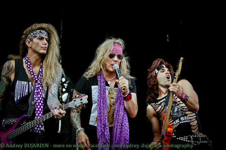 Hellfest 2012  - Steel Panther