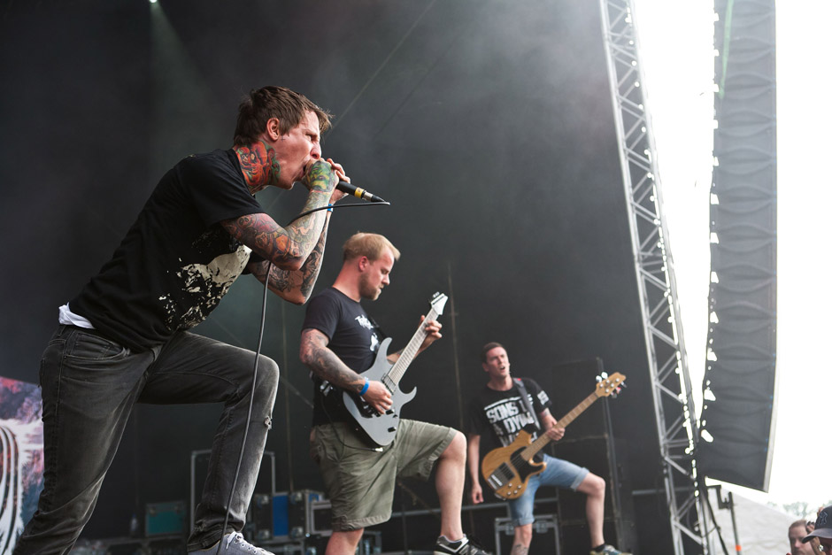 War From A Harlots Mouth live, Extremefest 2012 in Hünxe