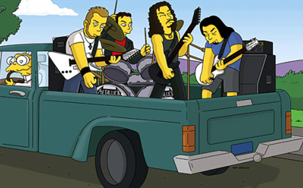 Metallica bei den Simpsons