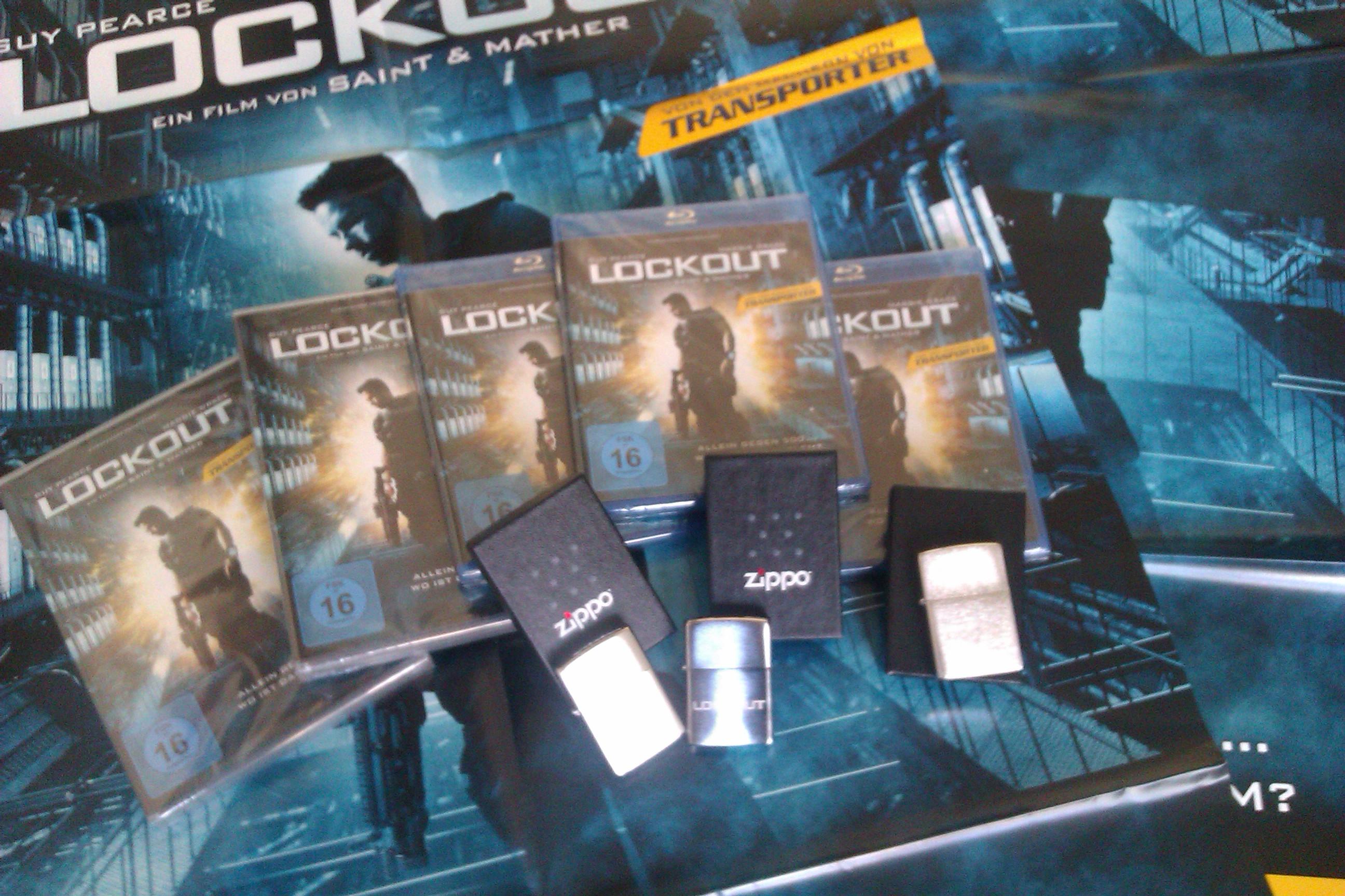 Lockout- und Zippo-Verlosung