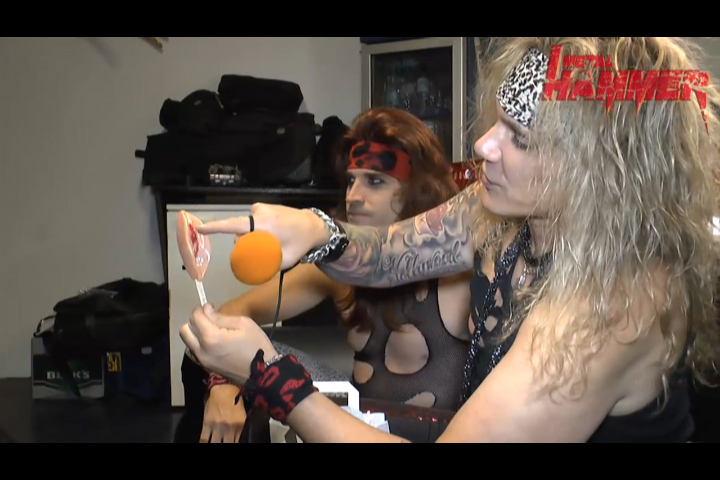 Steel Panther mit Pussy-Lolly