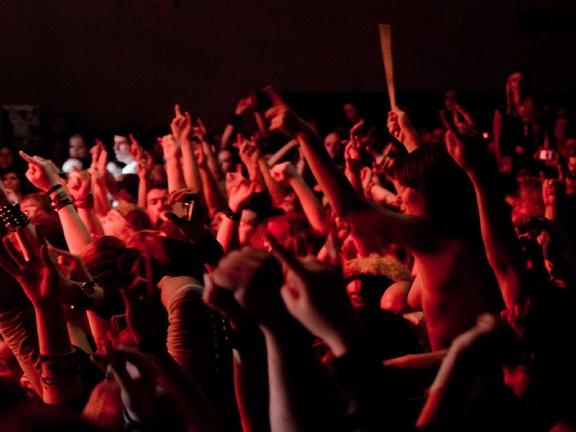 Steel Panther, live, 16.03.2012 Hamburg, Docks