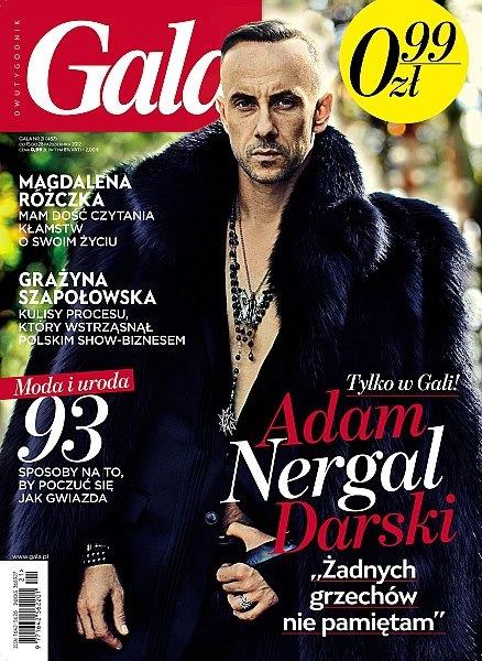 Nergal auf dem Titel der polnischen Gala