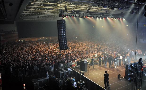 Frei.Wild während ihrer Xmas-Tour 2011/2012