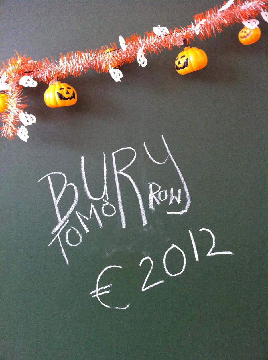 Bury Tomorrow Tourtagebuch 2012