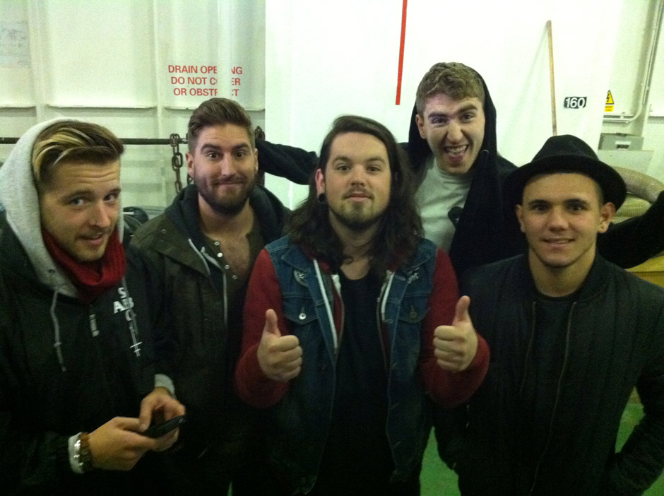 Bury Tomorrow Tourtagebuch 2012
