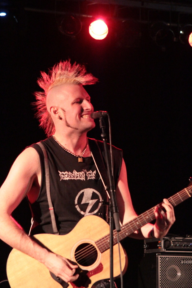 Matt Voodoo auf dem Rock'n'Ink 2012