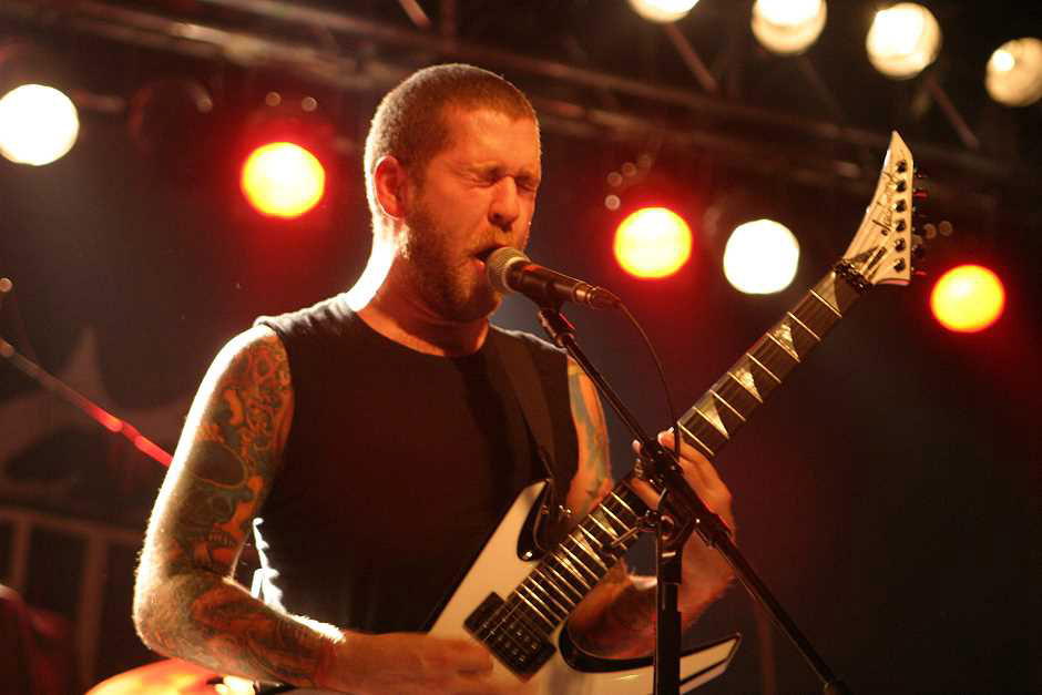 Revocation live, 08.10.2012, München, Backstage