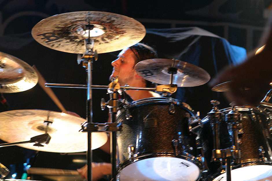 Revocation live, 08.10.2012, München, Backstage