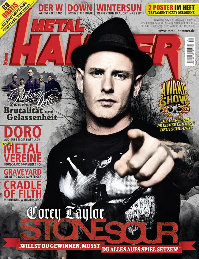 METAL HAMMER 11/2012