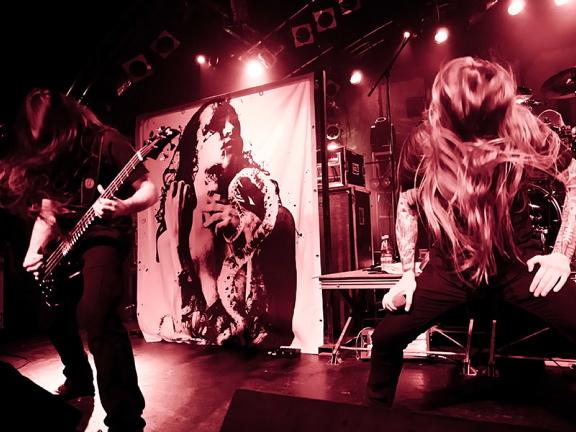 Legion Of The Damned, live, 09.02.2012 Hamburg, Markthalle