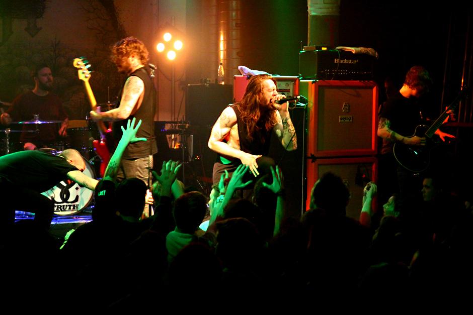 While She Sleeps live, 23.10.2012, Schweinfurt, Stattbahnhof