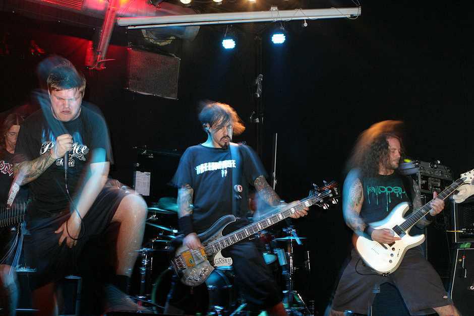Hatesphere live, 8.10.2012, München, Backstage