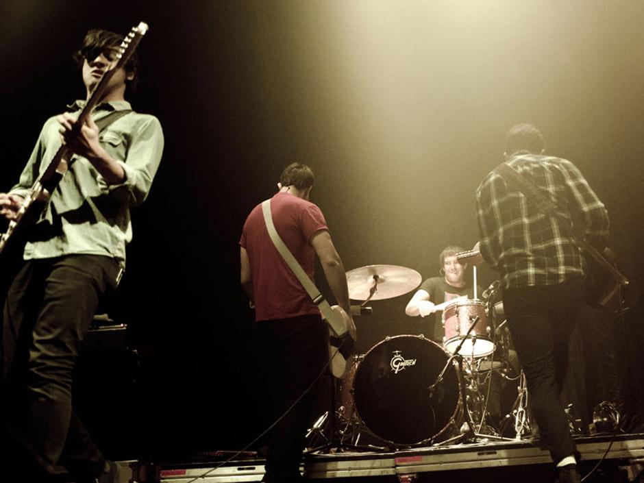 Arkells live, 11.10.2012, Hamburg