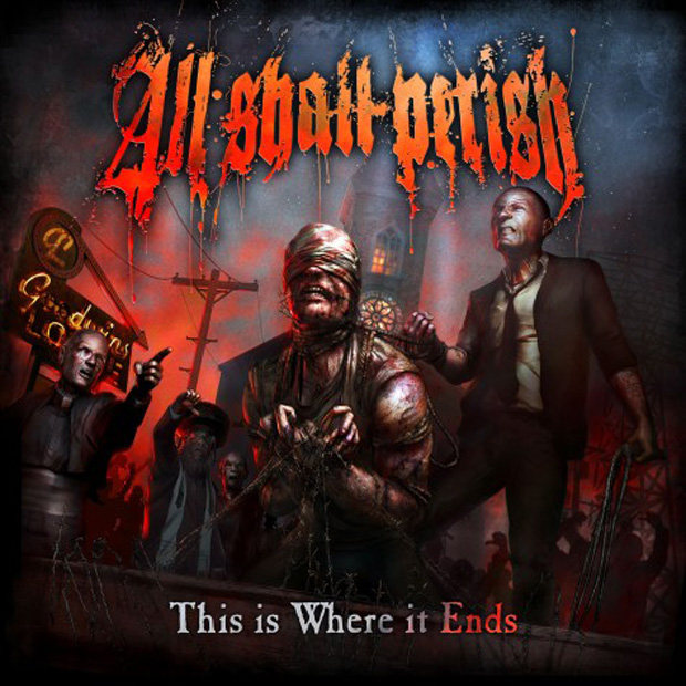 All Shall Perish, This Is Where It Ends, Cover