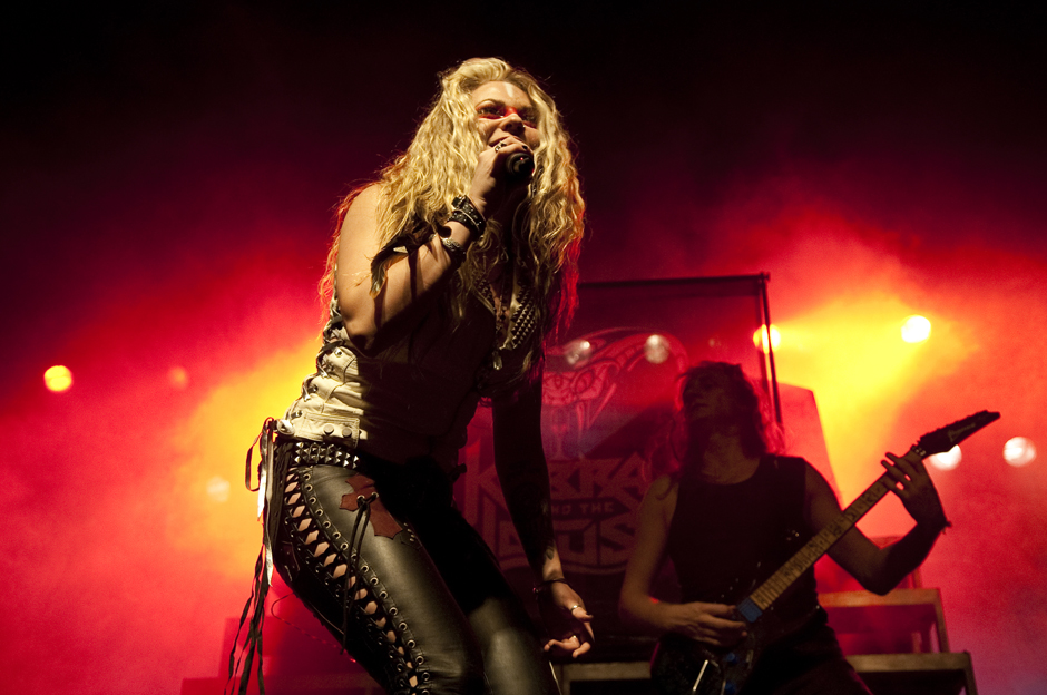 Kobra And The Lotus live, 25.10.2012, Hamburg,  Docks