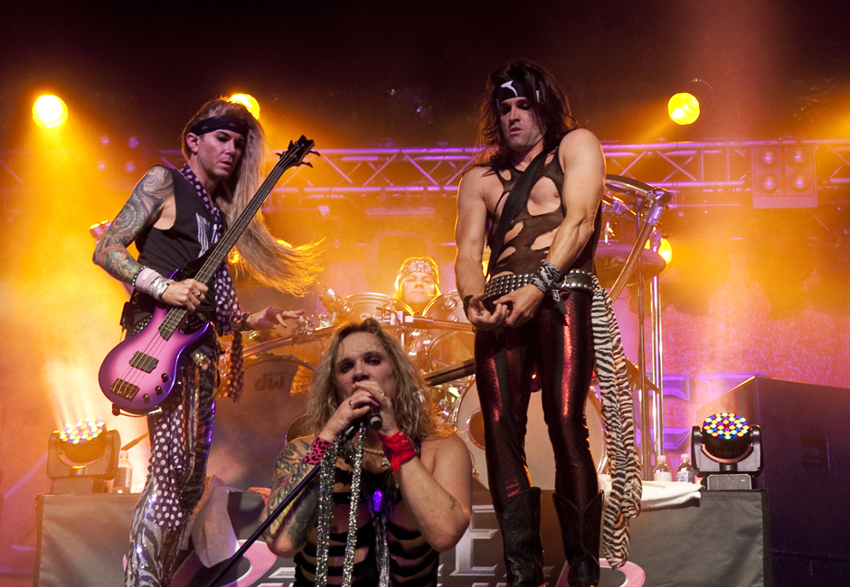 Steel Panther live, 25.10.2012, Hamburg, Docks