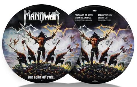Manowar THE LORD OF STEEL Picture Vinyl
