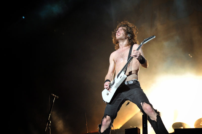 Airbourne, live, Wacken 2011