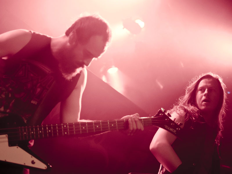 Huntress live, 24.10.2012, Hamburg