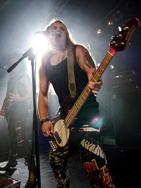 Kissin Dynamite live, 24.10.2012, Hamburg