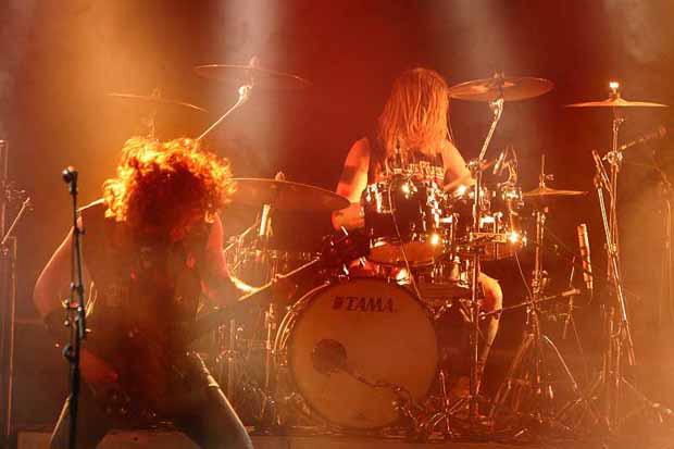 Vanderbuyst, live, 05.01.12 München, Backstage