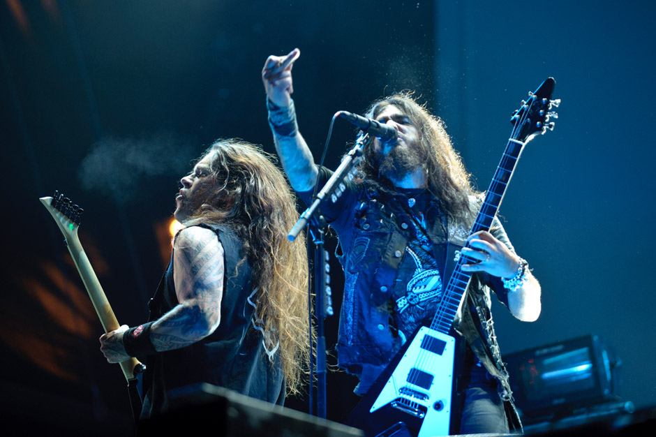 Machine Head live, Wacken Open Air 2012