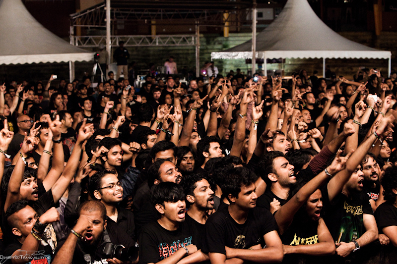 Kreator, Bangalore Open Air in Indien, 16.06.2012