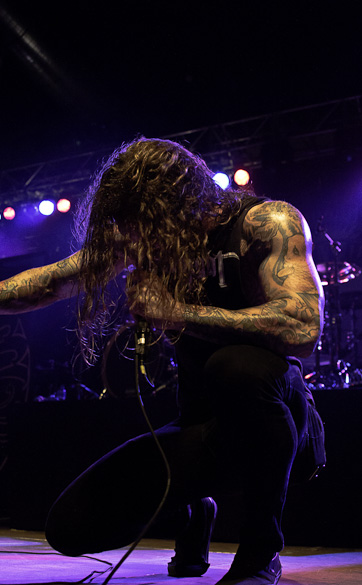 As I Lay Dying live, 7.11.2012, Berlin