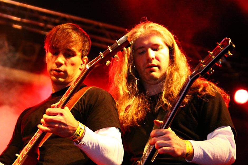 Dark At Dawn live, 09./10.11.2012, Hammer Of Doom, Würzburg