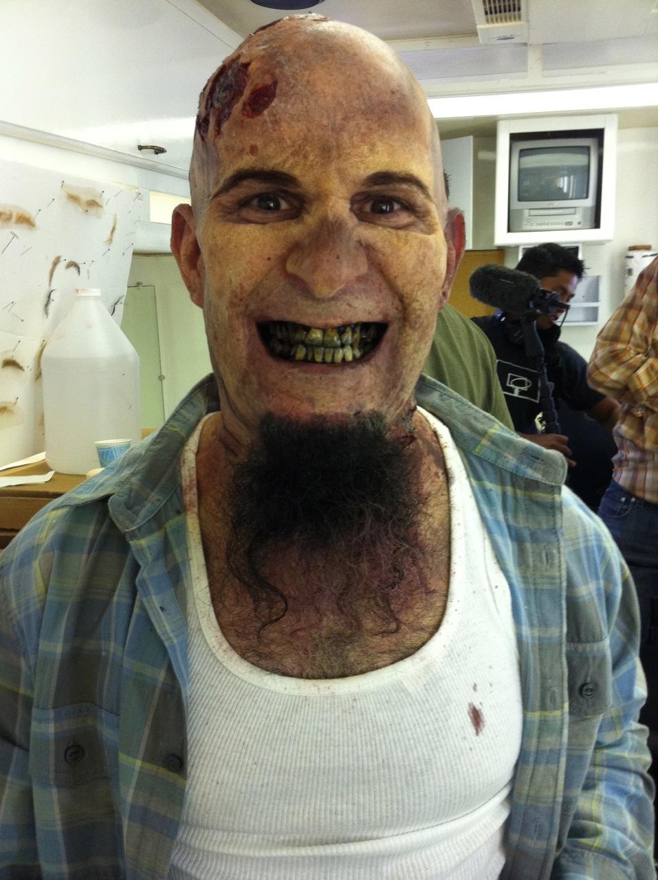 Scott Ian als Zombie bei 'The Walking Dead'