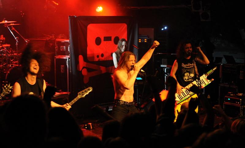Alestorm, live, 06.10. Hamburg, Markthalle