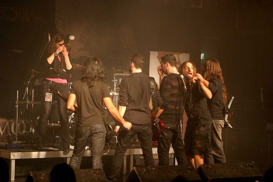 Scar Of The Sun live, 10.11.2012, München, Backstage