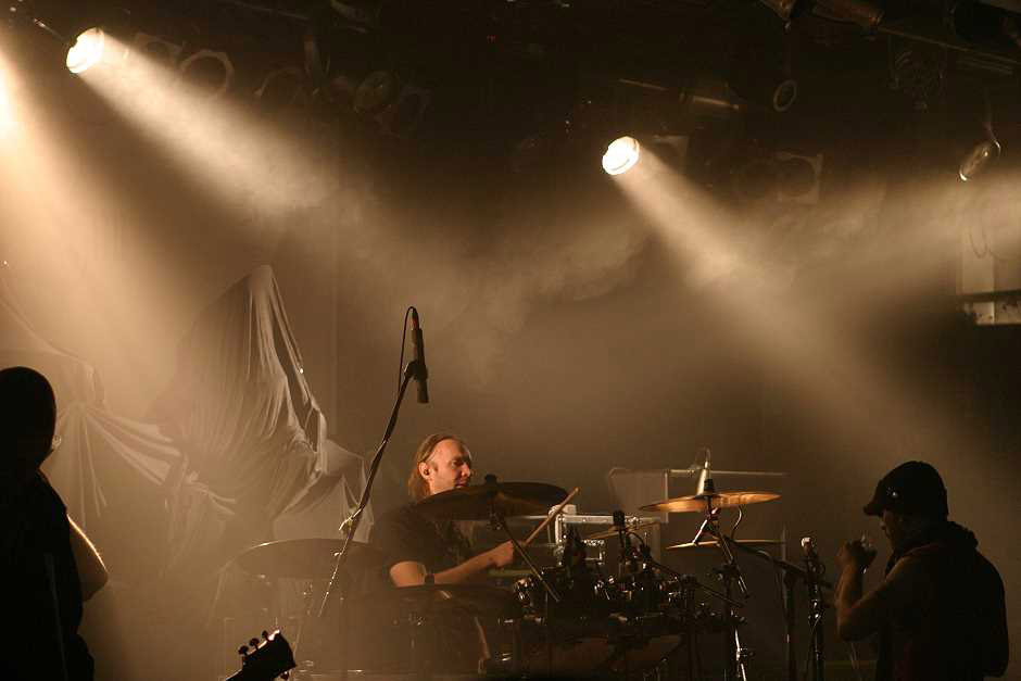 Swallow The Sun live, 10.11.2012, München, Backstage