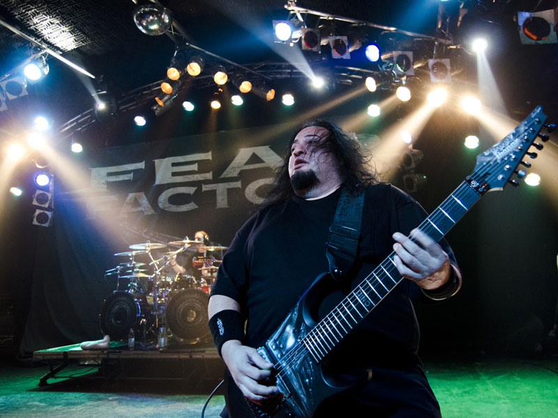 Fear Factory live, 31.10.2012, Hamburg
