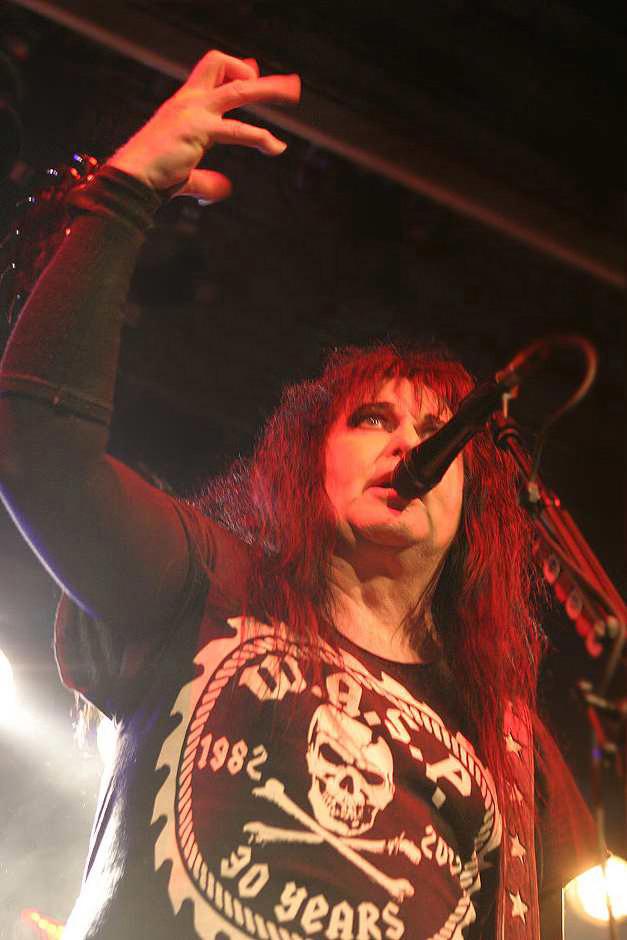 W.A.S.P. live, 16.11.2012, München, Backstage
