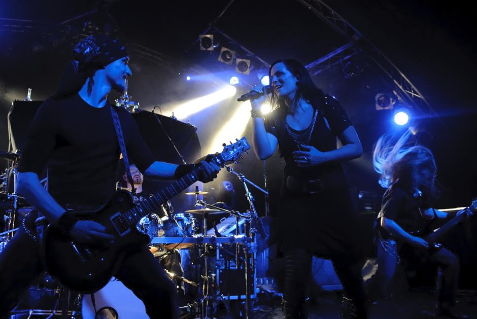 Xandria live, 20.11.2012, Hamburg, Markthalle