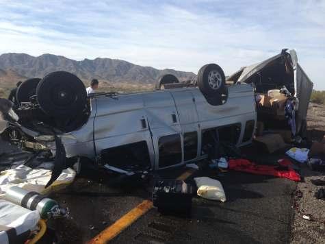 The Acacia Strain Van-Unfall