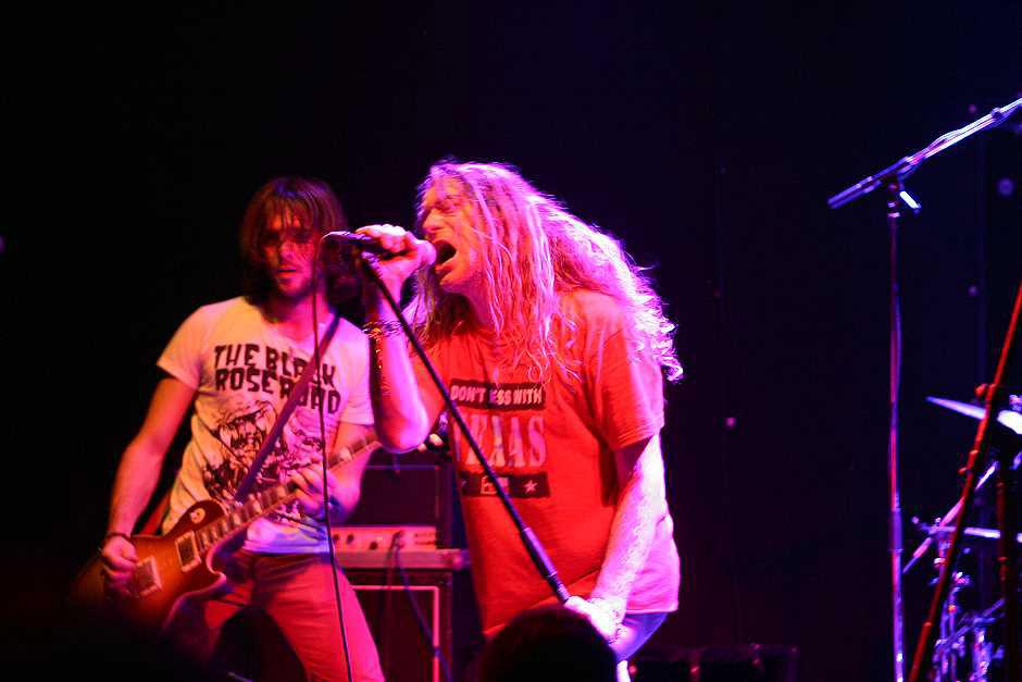 Warrior Soul live, 20.11.2012, München, Backstage