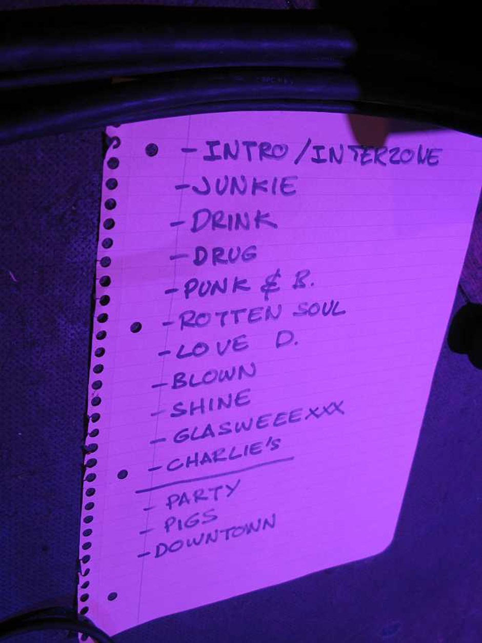 Warrior Soul live, 20.11.2012, München, Backstage