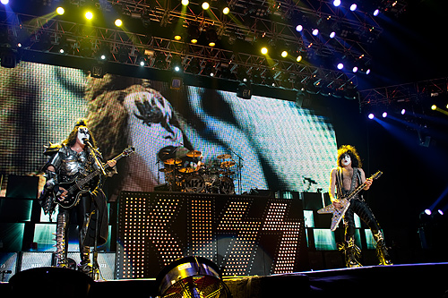 Kiss live, 31.05.2010 Hamburg, Colorline-Arena
