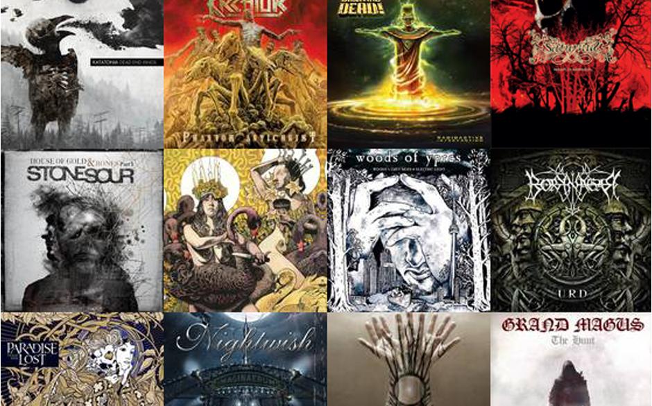Die METAL HAMMER-Alben des Monats 2012