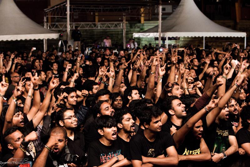 Kreator, Bangalore Open Air in Indien, 16.06.2012